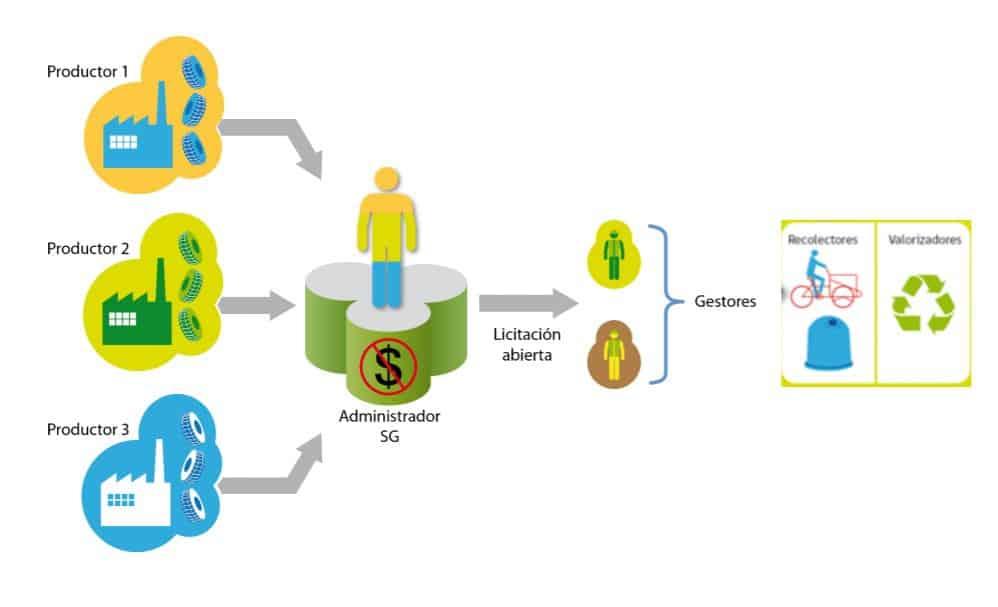 Figura 1: Sistemas colectivos de gestión