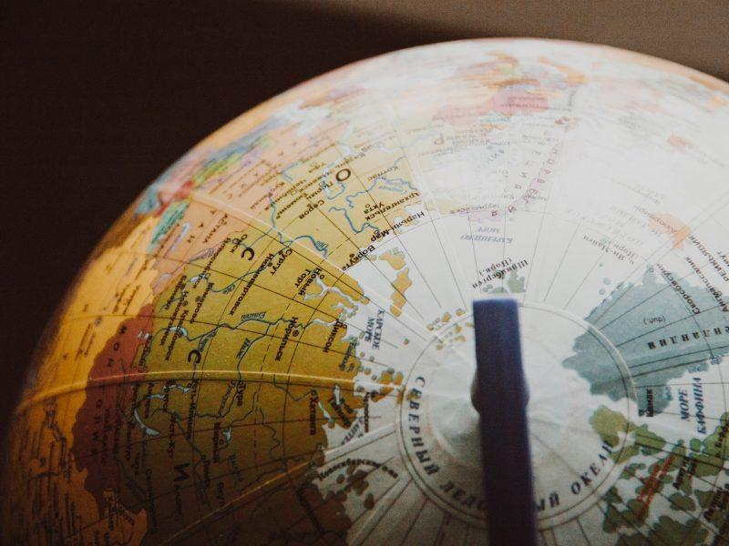Tratados internacionales -mapa