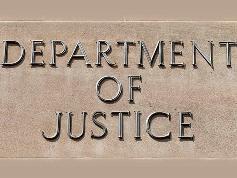 Edificio DOJ y su primer caso criminal de 'no-poach agreement'