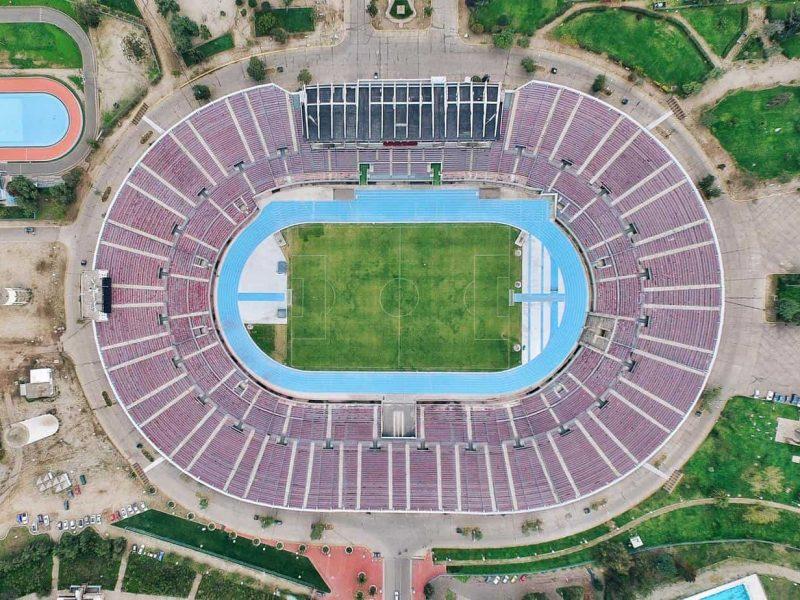 Cancha de fútbol - demanda contra ANFP